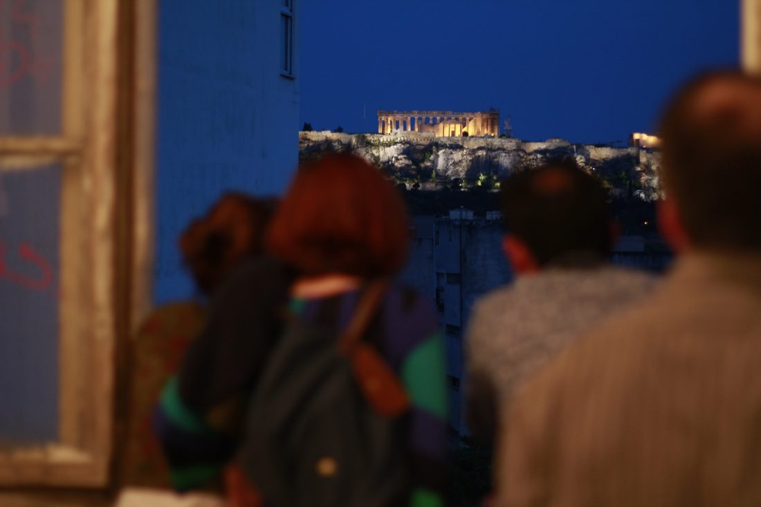 Open Air Screenings at the historic center of Athens